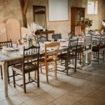 Table salle de réception
